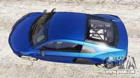 Audi R8 V10 Plus 2015 für GTA 5