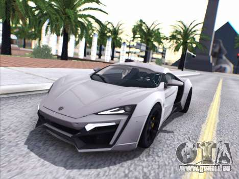 W Motors Lykan Hypersport 2015 HQ für GTA San Andreas