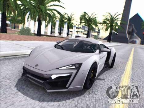 W Motors Lykan Hypersport 2015 HQ pour GTA San Andreas
