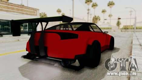 GTA 5 Annis Elegy Twinturbo No Spec pour GTA San Andreas laissé vue