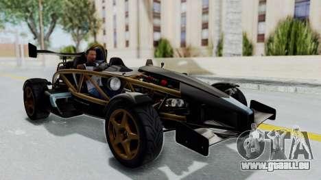 Ariel Atom 500 V8 pour GTA San Andreas vue de droite