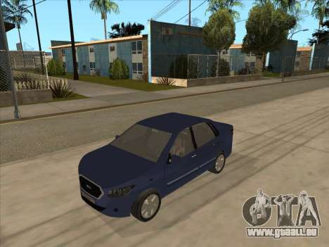 Datsun on-DO pour GTA San Andreas laissé vue