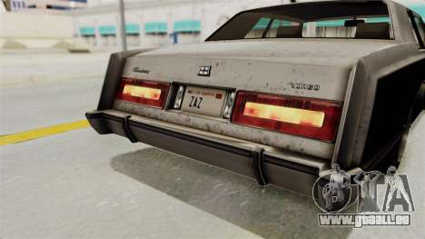 GTA 5 Dundreary Virgo SA Style für GTA San Andreas Unteransicht