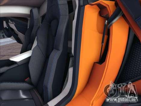 W Motors Lykan Hypersport 2015 HQ für GTA San Andreas Innenansicht