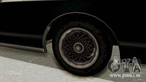 GTA 5 Dundreary Virgo SA Style für GTA San Andreas Rückansicht