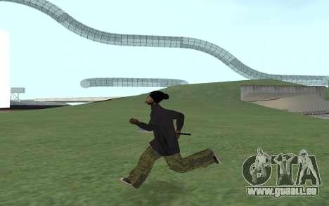Nouveau Ballas 3 pour GTA San Andreas troisième écran