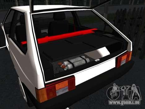 VAZ 2108 Stock by Greedy für GTA San Andreas Unteransicht