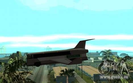 Sky Bus pour GTA San Andreas laissé vue