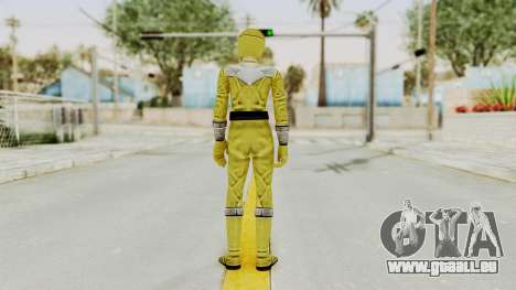 Power Rangers Time Force - Yellow für GTA San Andreas dritten Screenshot