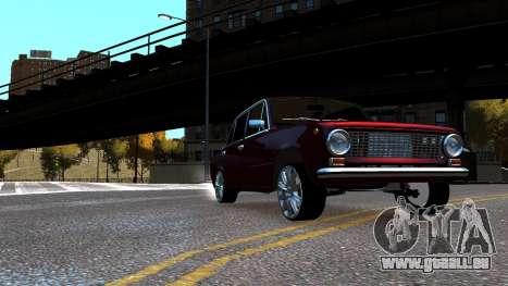 VAZ 21011 Style pour GTA 4 est un droit