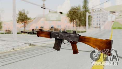 IOFB INSAS Detailed Orange Skin pour GTA San Andreas deuxième écran