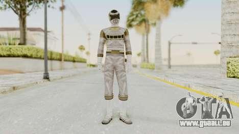 Power Rangers In Space - Silver pour GTA San Andreas deuxième écran