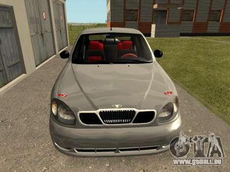 Daewoo Lanos (Sens) 2004 v2.0 by Greedy für GTA San Andreas linke Ansicht