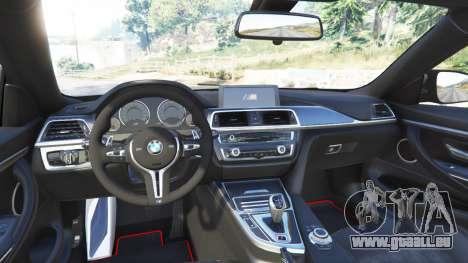 GTA 5 BMW M4 GTS arrière droit vue de côté