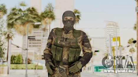 MGSV TPP Diamond Dog Combat Female pour GTA San Andreas
