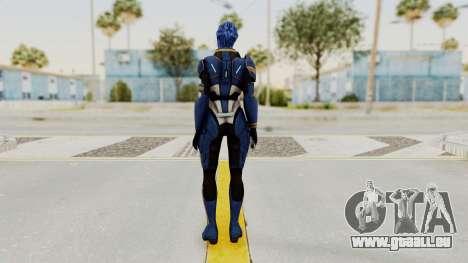Mass Effect 2 Tesla Vasir für GTA San Andreas dritten Screenshot