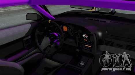 Chevrolet Corvette C4 Drag pour GTA San Andreas vue intérieure