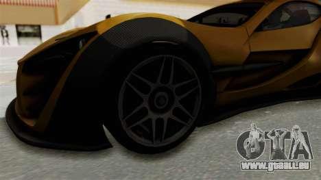 Felino CB7 pour GTA San Andreas vue arrière