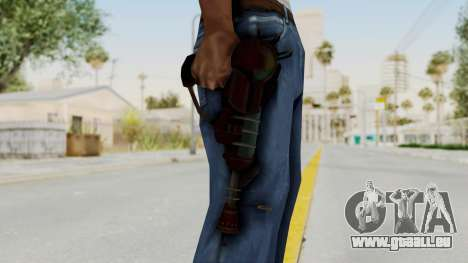 Ray Gun from CoD World at War pour GTA San Andreas troisième écran