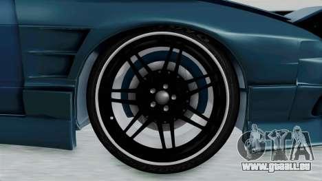 Nissan 180SX BETA pour GTA San Andreas vue arrière