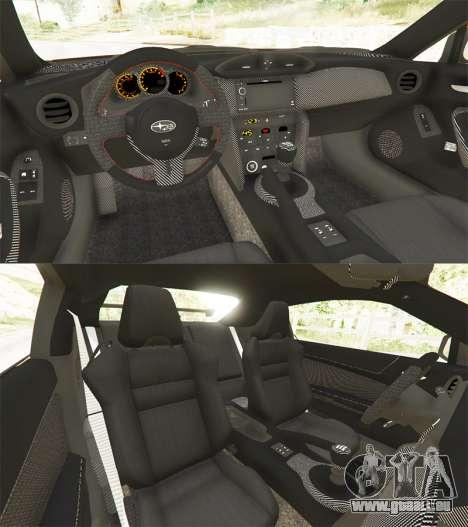 GTA 5 Subaru BRZ Rocket Bunny Rückansicht