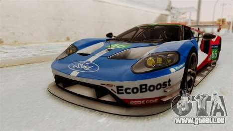Ford GT 2016 LM für GTA San Andreas