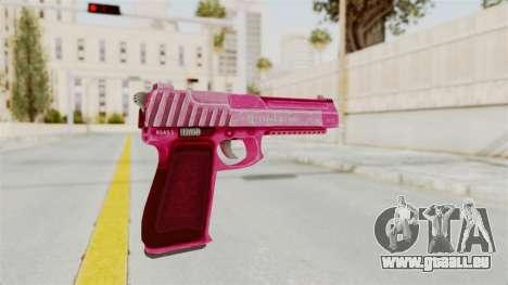 GTA 5 Pistol .50 Pink für GTA San Andreas dritten Screenshot