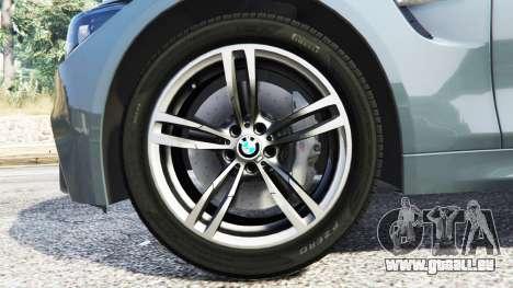 GTA 5 BMW M4 GTS avant droite vue de côté