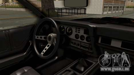 Ford Mustang King Cobra 1978 Monster Truck pour GTA San Andreas vue arrière