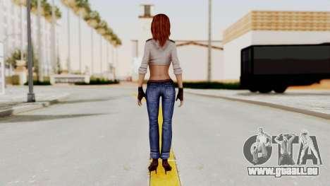 Brooke - Fireburst pour GTA San Andreas troisième écran