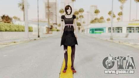 Madoka Tsukimori (Goth Version) pour GTA San Andreas deuxième écran