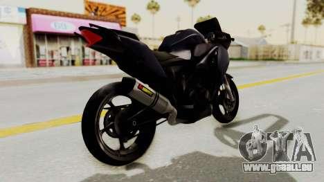 Honda CBR150i für GTA San Andreas rechten Ansicht