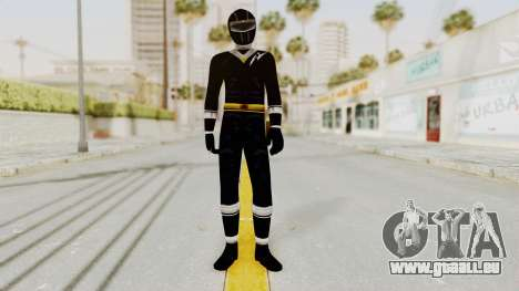 Alien Rangers - Black für GTA San Andreas zweiten Screenshot