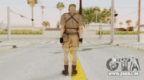 MGSV Phantom Pain CFA Combat Vest 1 v2 pour GTA San Andreas troisième écran