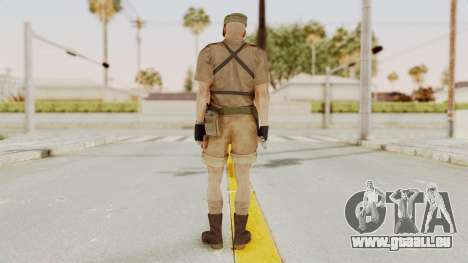 MGSV Phantom Pain CFA Combat Vest 1 v2 für GTA San Andreas dritten Screenshot
