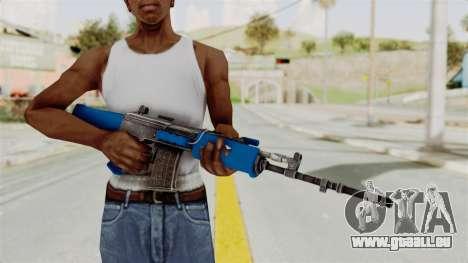 IOFB INSAS Dark Blue pour GTA San Andreas troisième écran