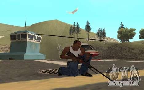 Redline weapon pack pour GTA San Andreas quatrième écran