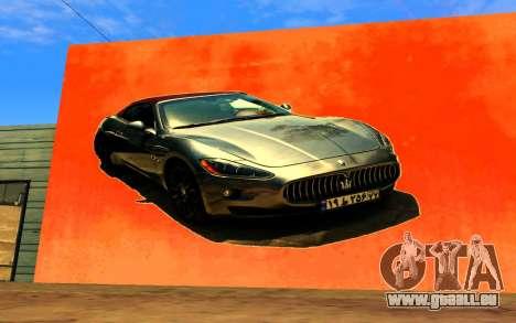 Maserati Wall Grafiti für GTA San Andreas