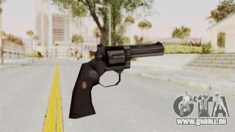 Liberty City Stories Colt Python für GTA San Andreas dritten Screenshot