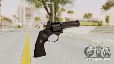 Liberty City Stories Colt Python pour GTA San Andreas troisième écran