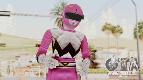 Power Rangers Lost Galaxy - Pink für GTA San Andreas