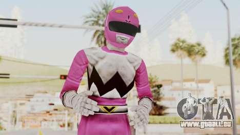 Power Rangers Lost Galaxy - Pink für GTA San Andreas