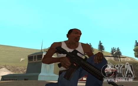 Redline weapon pack für GTA San Andreas dritten Screenshot