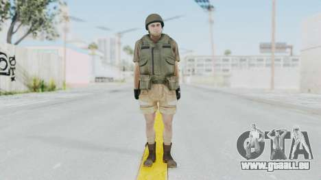 MGSV Phantom Pain CFA Vest v2 für GTA San Andreas zweiten Screenshot