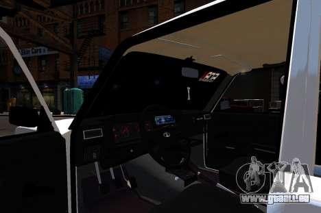 VAZ 2107 BPAN pour GTA 4 Vue arrière