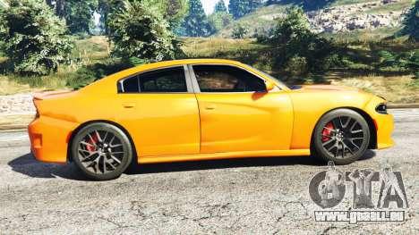 GTA 5 Dodge Charger SRT Hellcat 2015 v1.2 linke Seitenansicht