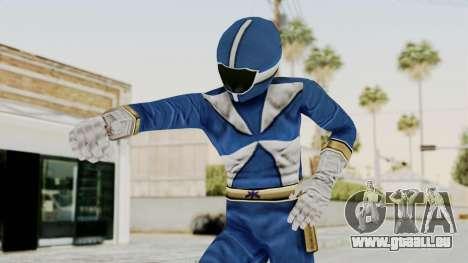 Power Rangers Lightspeed Rescue - Blue pour GTA San Andreas