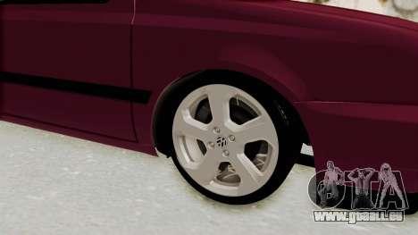 Volkswagen Golf 3 für GTA San Andreas Rückansicht
