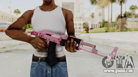 Assault Rifle Pink für GTA San Andreas