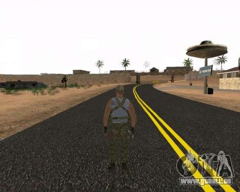 Pak Militaire Russe pour GTA San Andreas deuxième écran